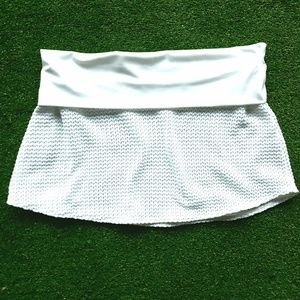 Victoria's Secret| Crochet Swim Cover Skirt